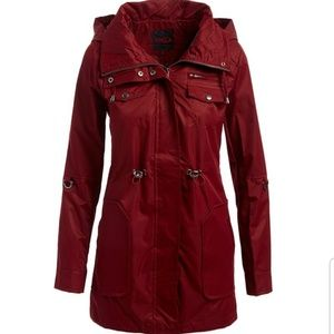 Coming Soon Plus Size Hooded Anorak Jacket